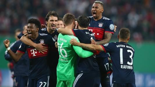 FC Bayern DFB Pokal 25102017