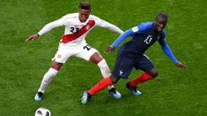 N'Golo Kante Pedro Aquino France Peru World Cup 2018 21062018