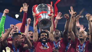 Mohamed Salah Champions League trophy 2019