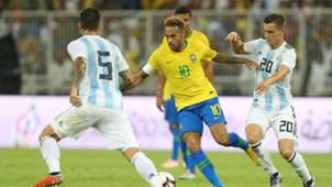 Neymar Lo Celso Brazil Argentina