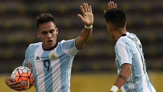Lautaro Martinez Argentina U-20
