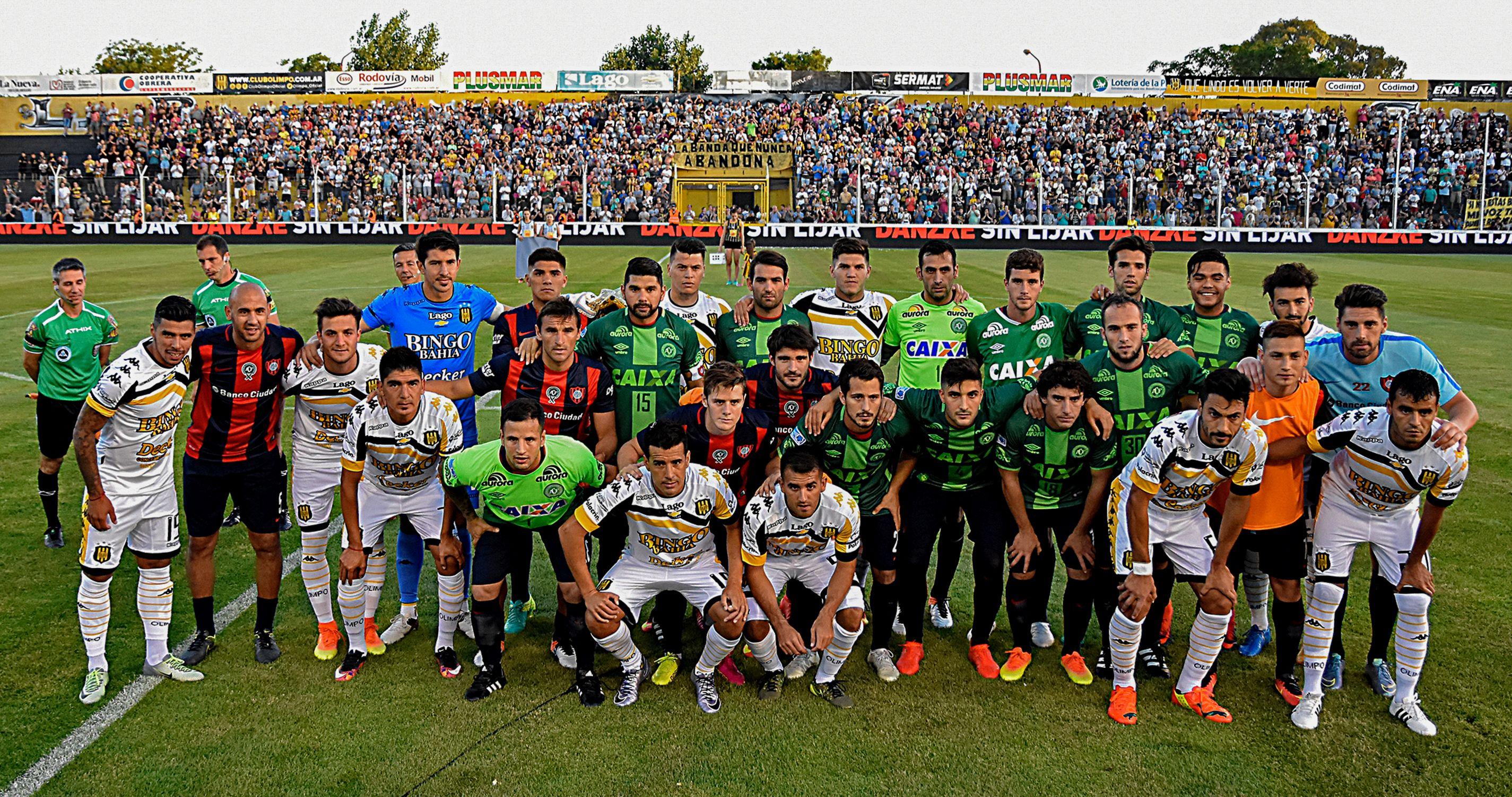 San Lorenzo Chapecoense tribute 03122016