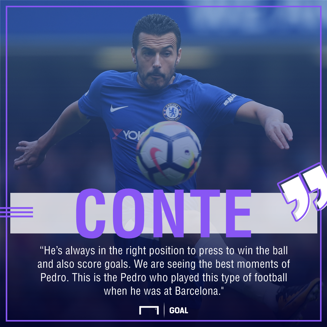 Antonio Conte Pedro Barca level