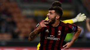 Patrick Cutrone goal Milan Rijeka
