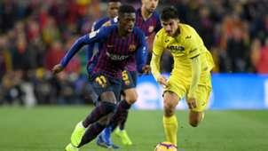 Ousmane Dembele Barca Villarreal 02122018