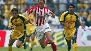 Gringo Castro Luis Roberto Alves Zague Pável Pardo América Necaxa América final Verano 2002 121218