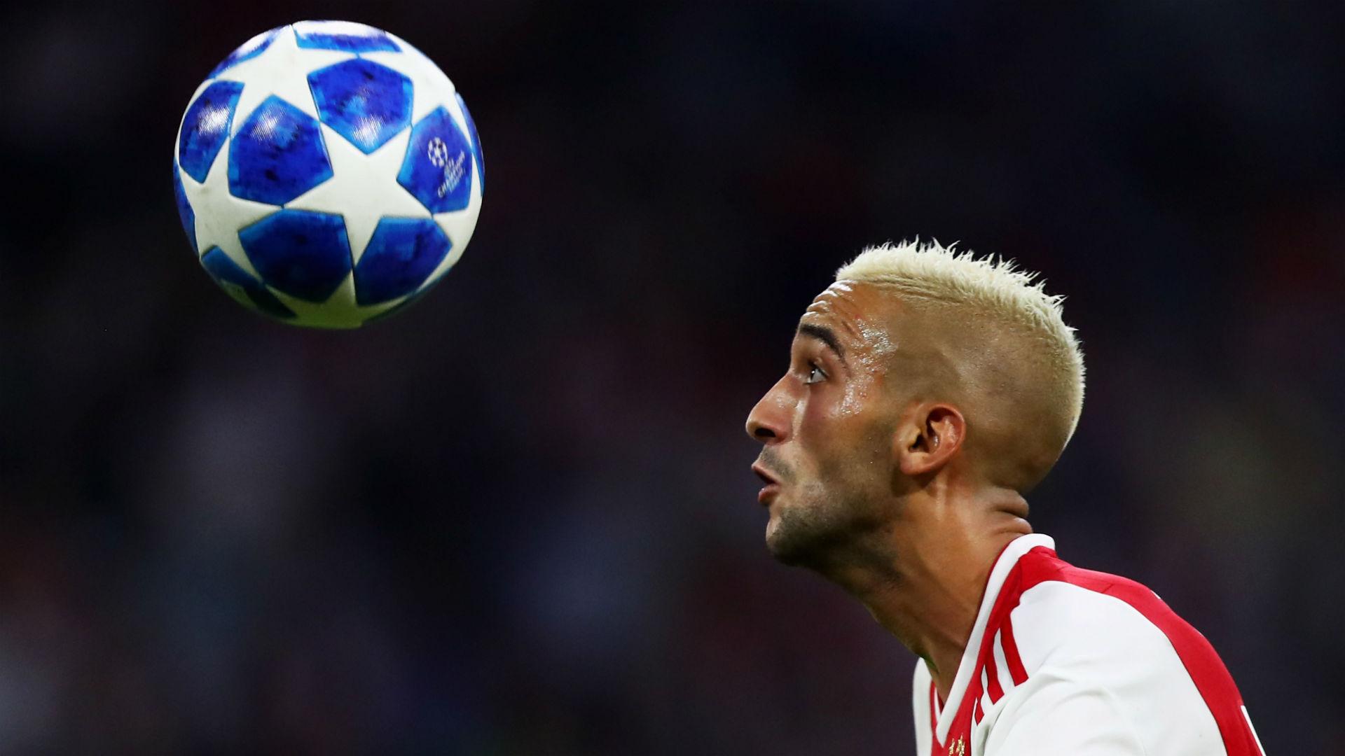 Hakim Ziyech Ajax 2018