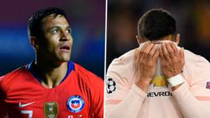 Alexis Sanchez Chile Man Utd