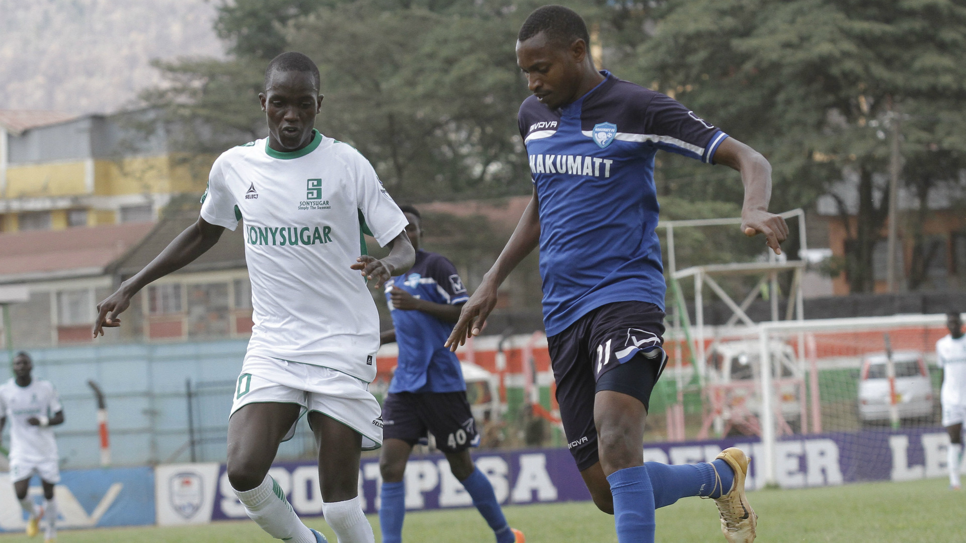 Peter Nzuki of Nakumatt FC.