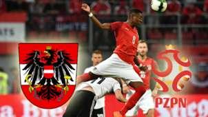 GFX Austria Poland EM Qualifikation Österreich Polen