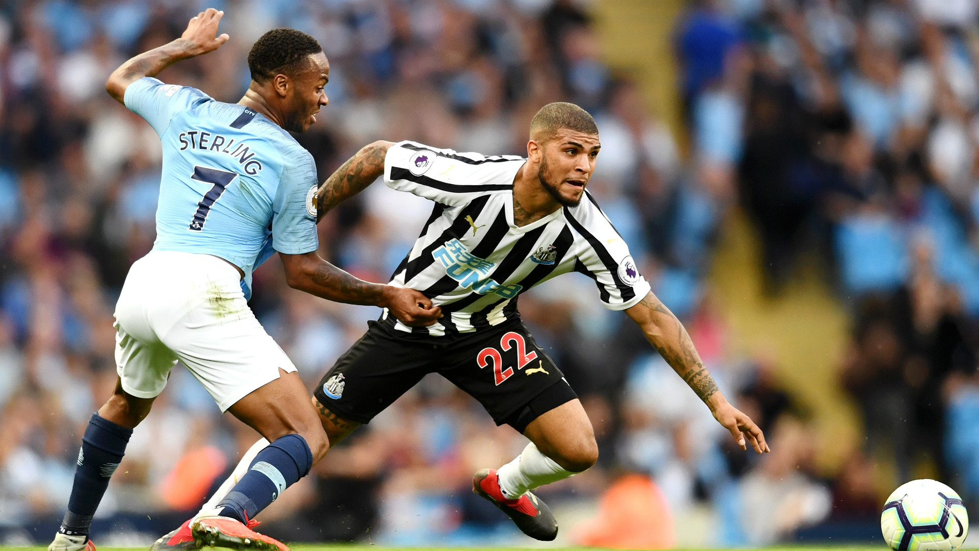 DeAndre Yedlin Newcastle Manchester City 09012018