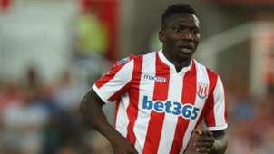 Oghenekaro Etebo -Stoke City v Wolverhampton Wanderers - Pre-Season Friendly