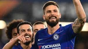 Pedro Olivier Giroud Chelsea 2018-19