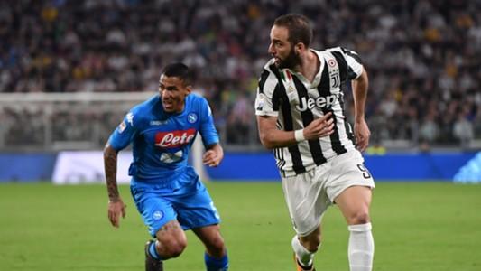Gonzalo Higuain Allan Juventus Napoli Serie A
