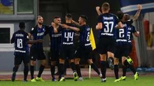 Inter celebrates Mauro Icardi vs. Lazio