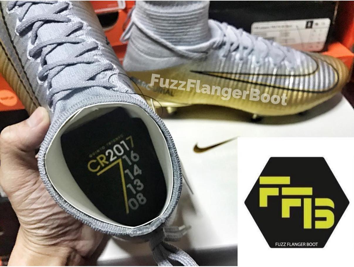 Cristiano Ronaldo leaked Nike football boots