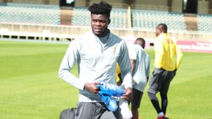 Thomas Partey of Ghana in Kenya.