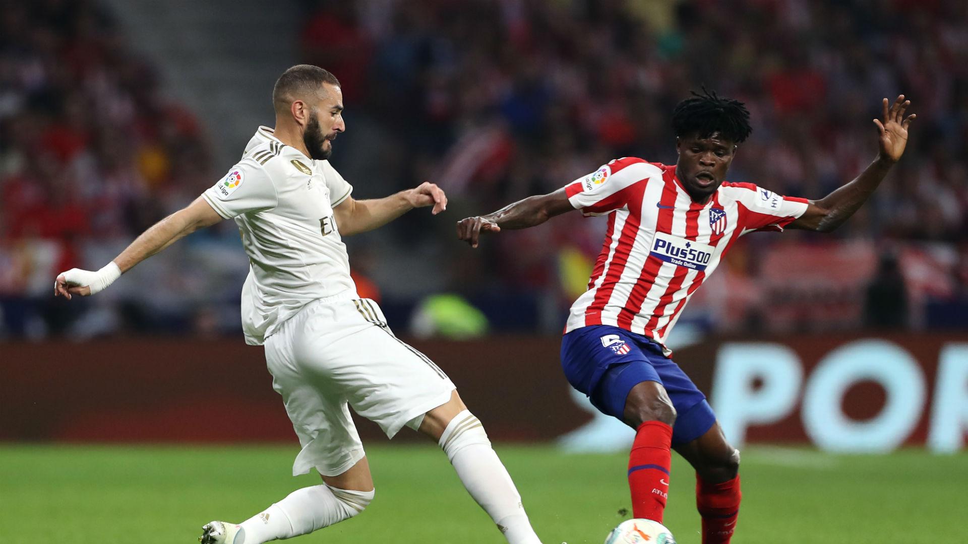 Thomas Partey Atletico Madrid 2019-20
