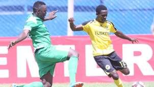 Gor Mahia captain Harun Shakava v Tusker