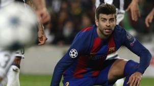 Gerard Pique Barcelona Juventus UCL 19042017
