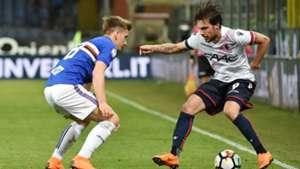 Simone Verdi Dennis Praet Sampdoria Bologna Serie A