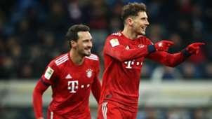 Leon Goretzka Mats Hummels FC Bayern
