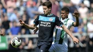 Marco van Ginkel, Juninho Bacuna, Groningen - PSV, Eredivisie, 07052017