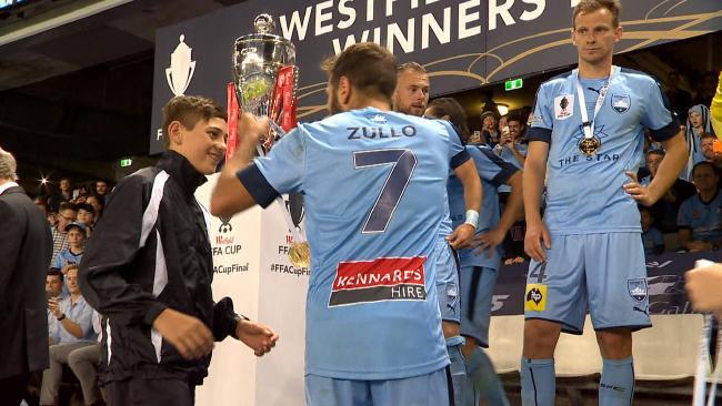 FFA Cup final ball boy