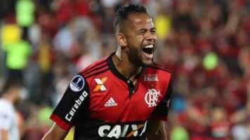 Geuvanio Flamengo Palestino Copa Sudamericana 09082017