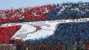 Crotone fans Serie A 05132018