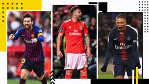 GFX Messi Seferovic Mbappe Scorer Europe