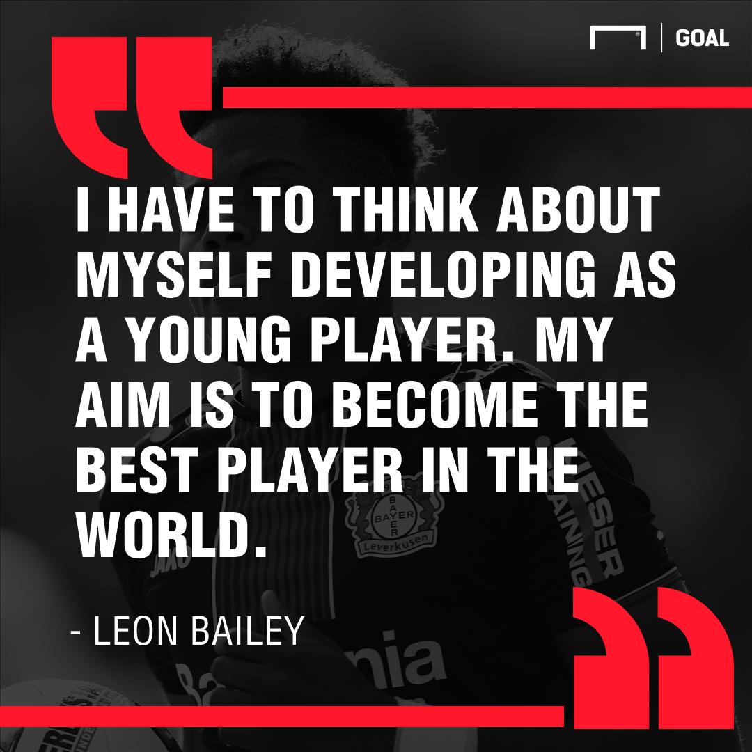Leon Bailey quote PS