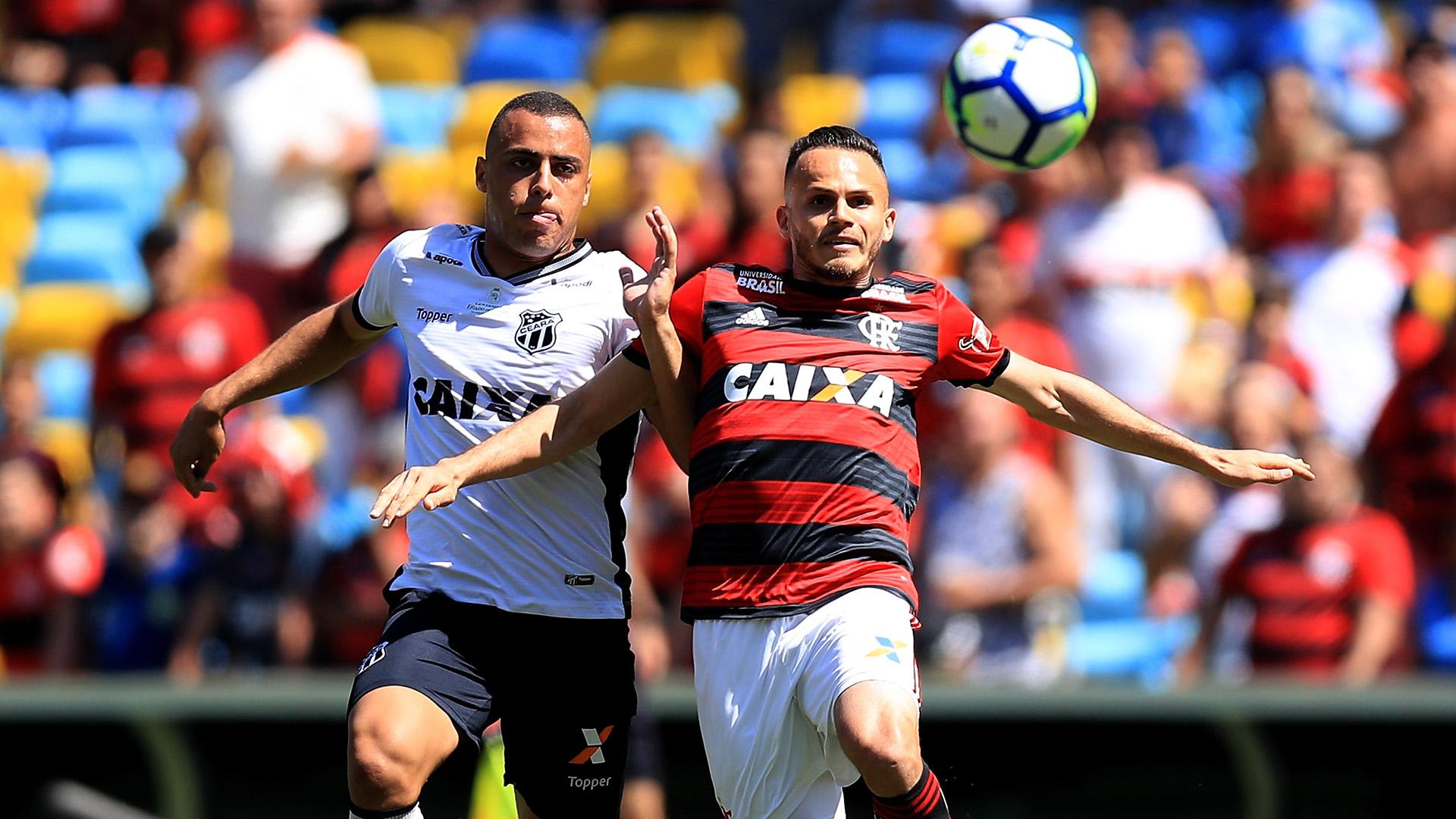 Arthur Cabral Rene Flamengo Ceara Brasileirao Serie A 02092018