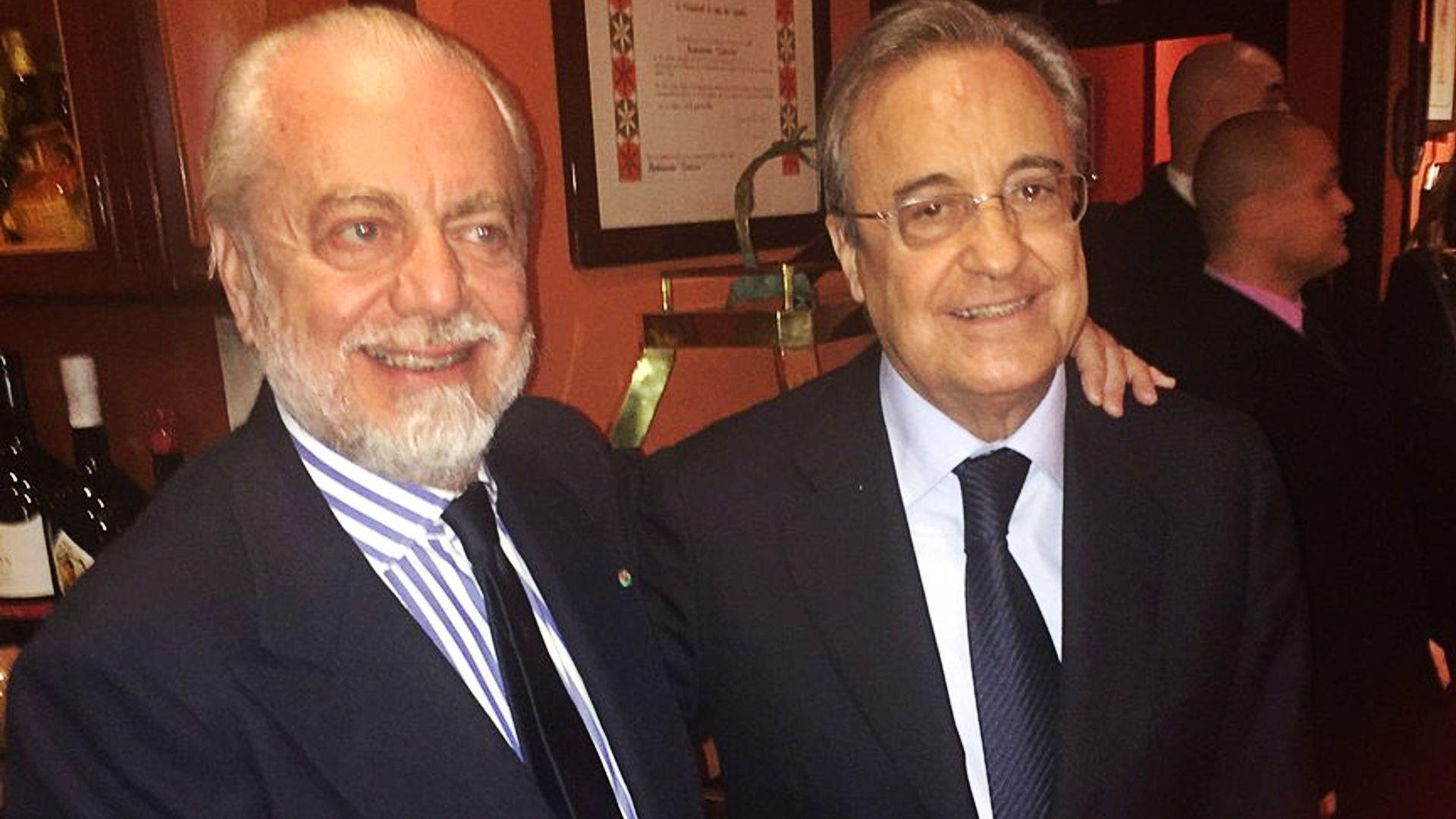 Aurelio De Laurentiis Florentino Perez