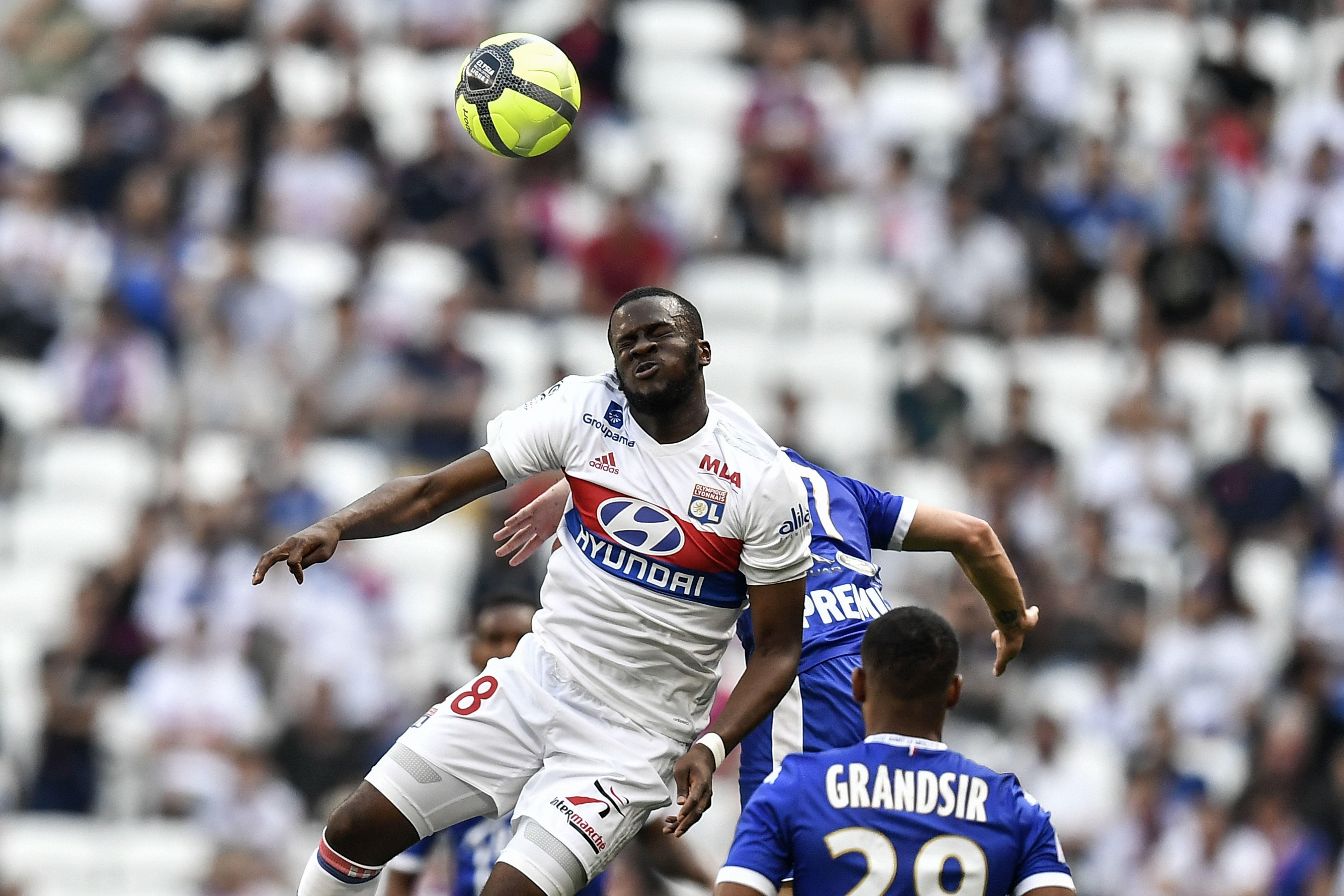 Tanguy NDombele Lyon Troyes Ligue 1 06052018