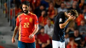 Isco Alarcon Luka Modric España Croacia Spain Croatia UEFA Nations League 11092018