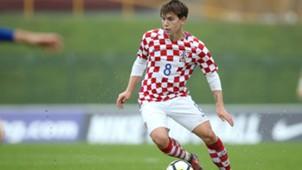 croatia U21 san marino - ante coric - 08112017