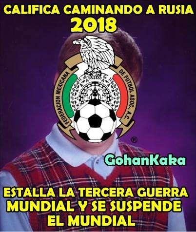 Memes del México vs Panamá