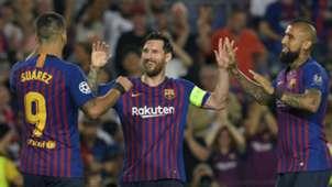 Lionel Messi Barcelona PSV