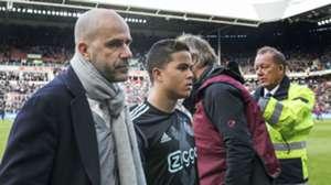 Justin Kluivert, Peter Bosz, PSV - Ajax, Eredivisie,