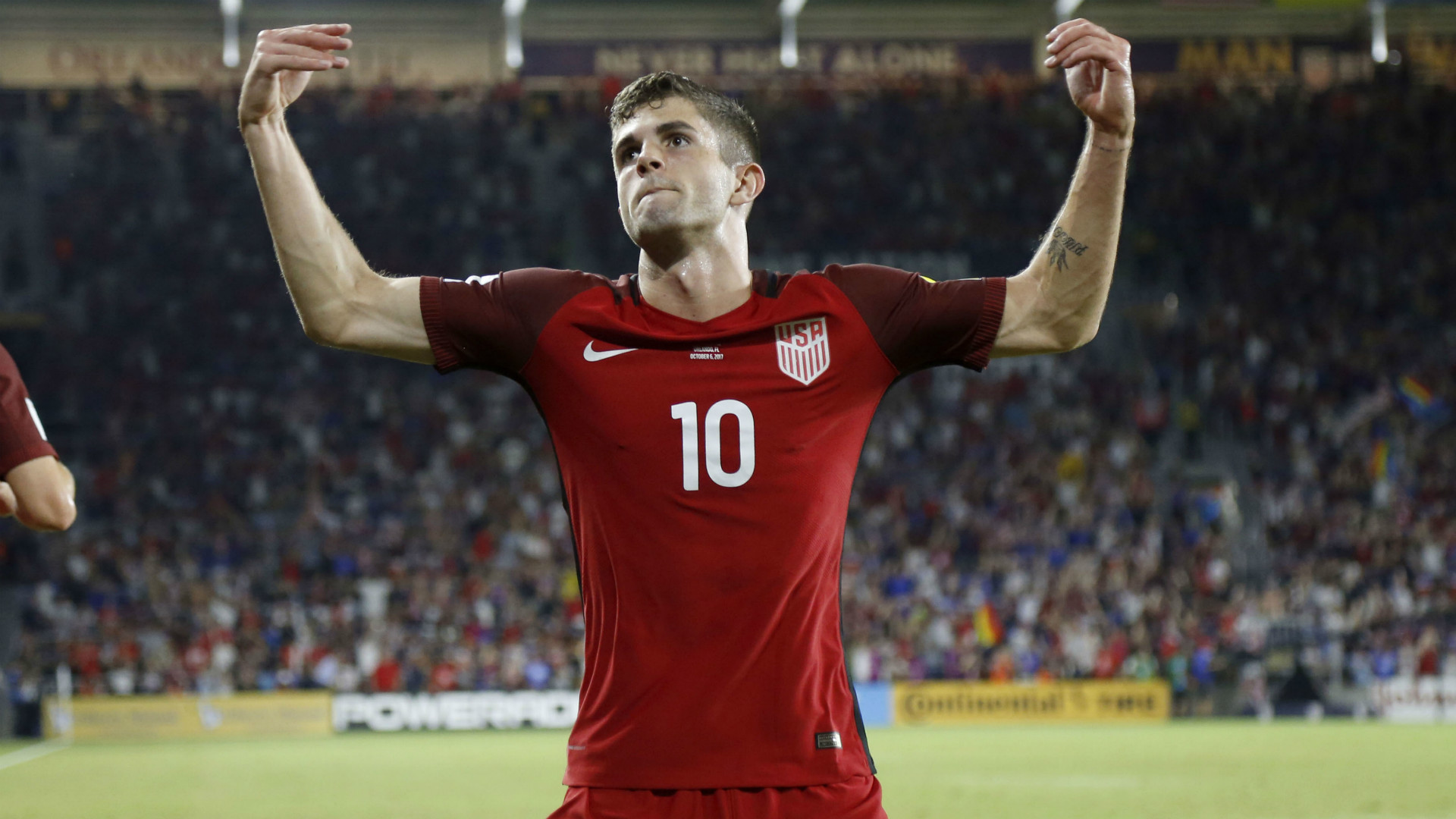 Christian Pulisic USA World Cup