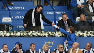 Leicester City Vichai tribute 10112018