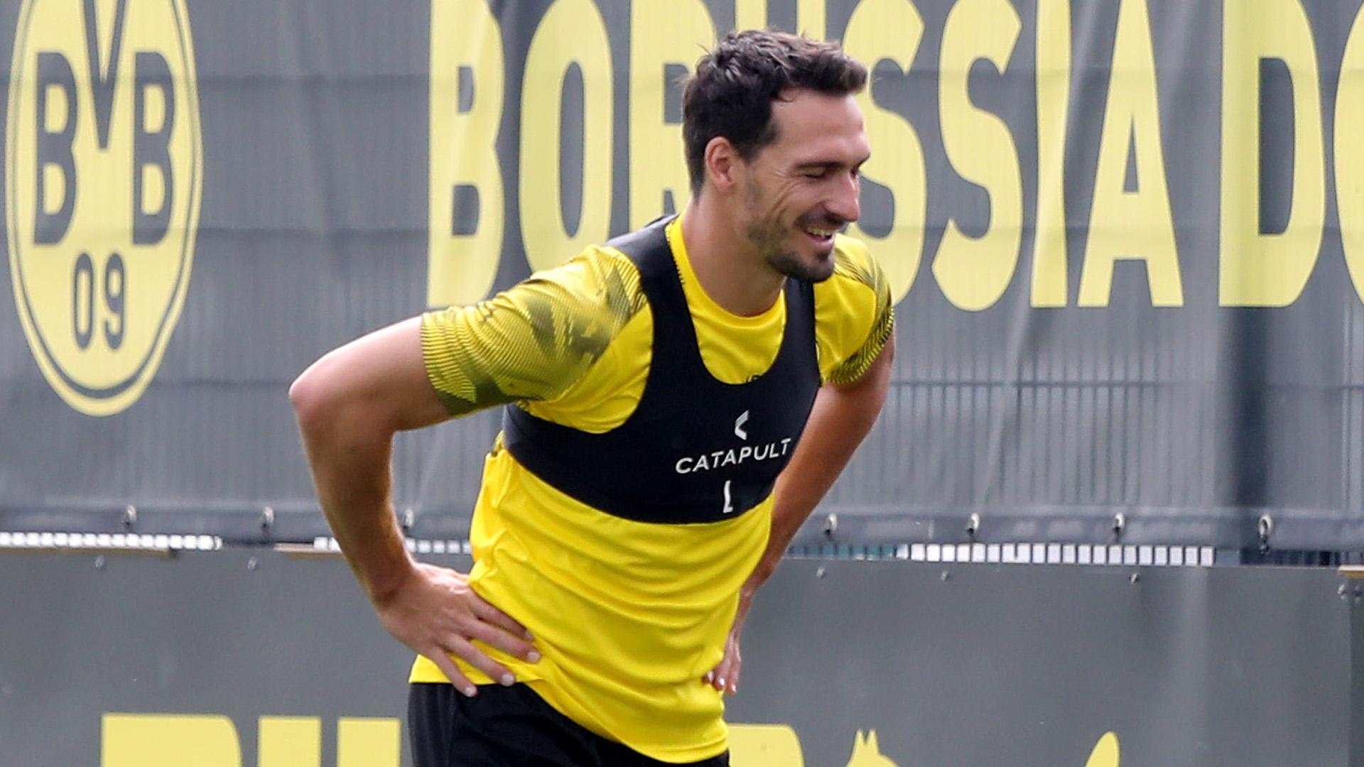 Mats Hummels BVB Training