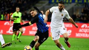 Mauro Icardi Kostas Manolas Inter Roma