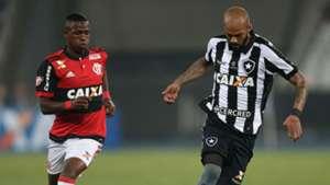Vinícius Junior Bruno Silva Botafogo Flamengo Copa do Brasil 17 08 2017