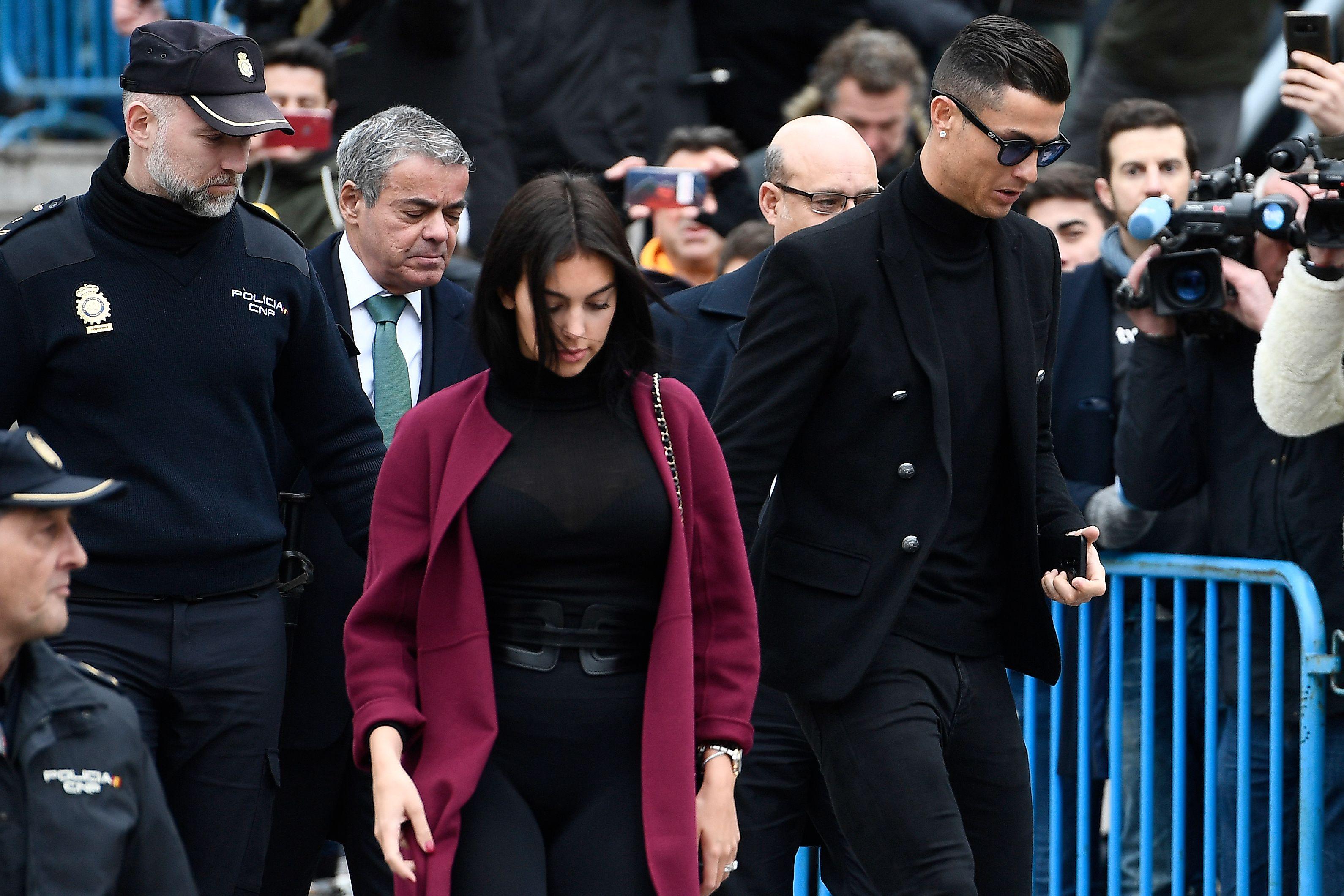 Cristiano Ronaldo Georgina juzgado
