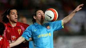 Lionel Messi Barcelona Murcia 2008