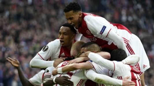 Ajax v Lyon Europa League 03052017