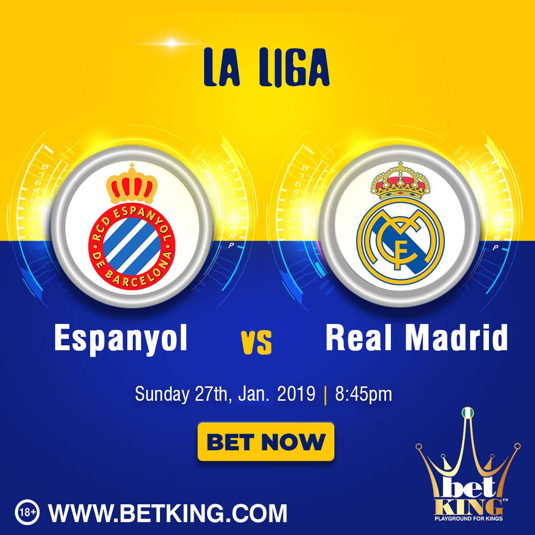 Betking Espanyol Real Madrid