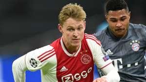 Frenkie de Jong Ajax 2018-19